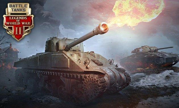 Tanks online game of tank BIG BATTLE